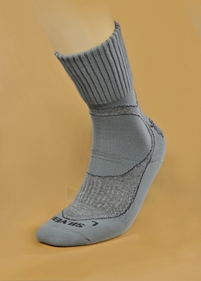 Kojinės termoaktyvios TREKKING DEODORANT SILVER - pilkos Paveikslėlis 1 iš 1 251510600016