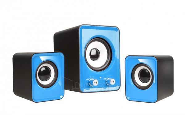 Kolonėlės 2.1 TRACER OMEGA Blue USB Paveikslėlis 1 iš 5 250214000766
