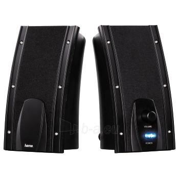 Kolonėlės HAMA Power Negra PC Speaker Paveikslėlis 1 iš 1 310820002606