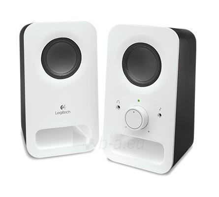 Kolonėlės Logitech Z150 Speakers, Snow White Paveikslėlis 1 iš 2 250255800341
