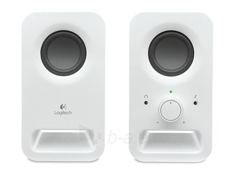 Kolonėlės Logitech Z150 Speakers, Snow White Paveikslėlis 2 iš 2 250255800341