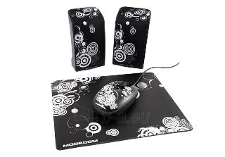 Kolonėlės MODECOM MC-STARTER ART Juodos [ 2.0 stereo ] Paveikslėlis 1 iš 2 250214000442