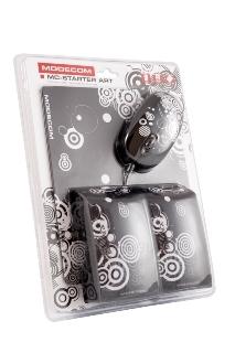 Kolonėlės MODECOM MC-STARTER ART Juodos [ 2.0 stereo ] Paveikslėlis 2 iš 2 250214000442