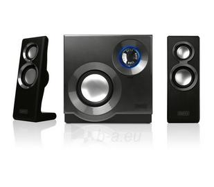 Kolonėlės Sweex 2.1 60W Purephonic Black/ Silver Paveikslėlis 2 iš 4 250255800579