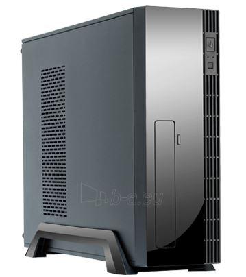 Kompiuterio korpusas CHIEFTEC UE-02B Minitower Black, 2 x USB Paveikslėlis 1 iš 1 310820015766
