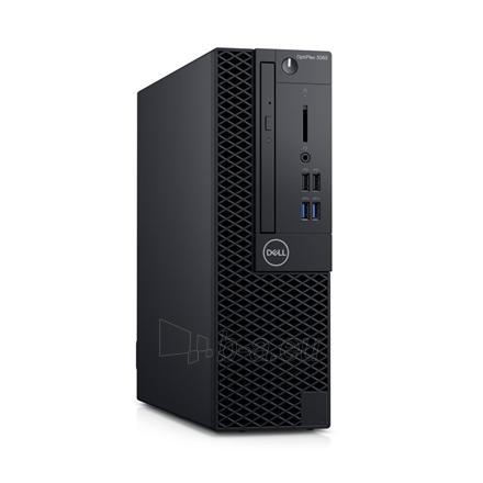 Kompiuteris Dell OptiPlex 3060 Desktop, SFF, Intel Core i3, i3-8100, Internal memory 4 GB, DDR4, SSD 128 GB, Intel HD, 8x DVD+/-RW 9.5mm Optical Disk Drive, Keyboard language English, Windows 10 Pro, Warranty Basic Onsite 36 month(s) Paveikslėlis 1 iš 2 310820180760