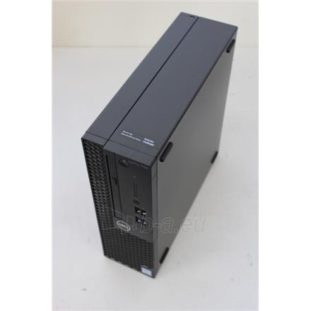 Kompiuteris SALE OUT. Dell OptiPlex 3060 SFF i3-8100/4GB/128GB/HD/Win10 Pro/Eng kbd+mouse/ Dell OptiPlex 3060 Desktop, SFF, Intel Core i3, i3-8100, Internal memory 4 GB, DDR4, SSD 128 GB, Intel HD, 8x DVD+/-RW 9.5mm Optical Disk Drive, Keyboard language  Paveikslėlis 1 iš 3 310820180763