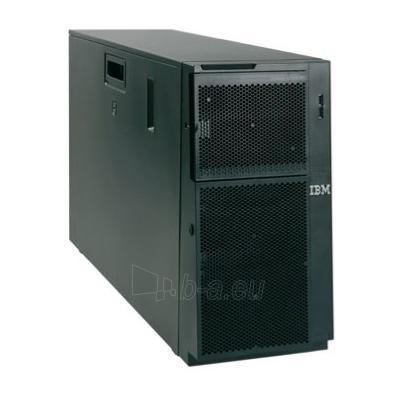 x3400 M3, Xeon 4C E5620 80W 2.4GHz/1066MHz/12MB, 1x4GB, O/Bay HS 2.5in SATA/SAS, SR M1015, DVD-ROM, 920W p/s, Tower Paveikslėlis 1 iš 1 250252700043