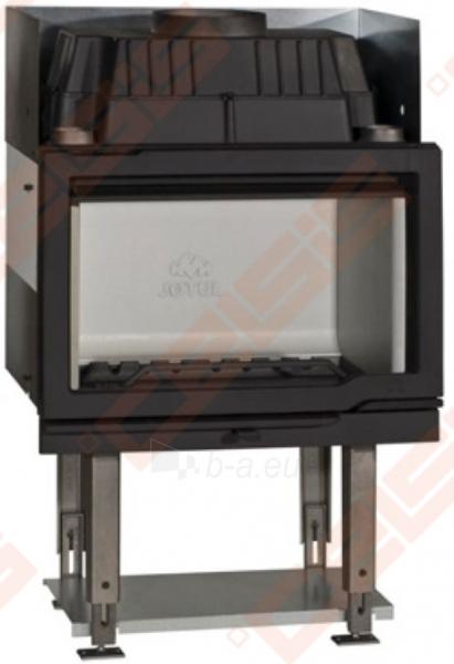 Komplektas Jøtul FS 166 (1025 x 1835 x 536). Apdaila iš steatito su ugniakuru Jøtul I 570 FL, dekoratyviniu rėmu ir pelenų dėže Paveikslėlis 4 iš 6 300559000014