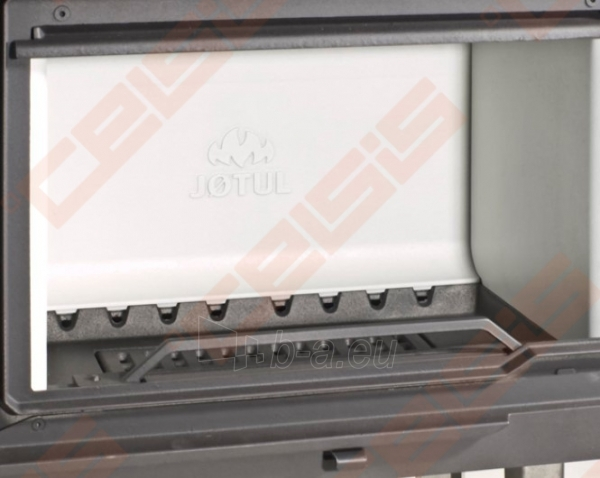 Komplektas Jøtul FS 166 (1025 x 1835 x 536). Apdaila iš steatito su ugniakuru Jøtul I 570 FL, dekoratyviniu rėmu ir pelenų dėže Paveikslėlis 6 iš 6 300559000014