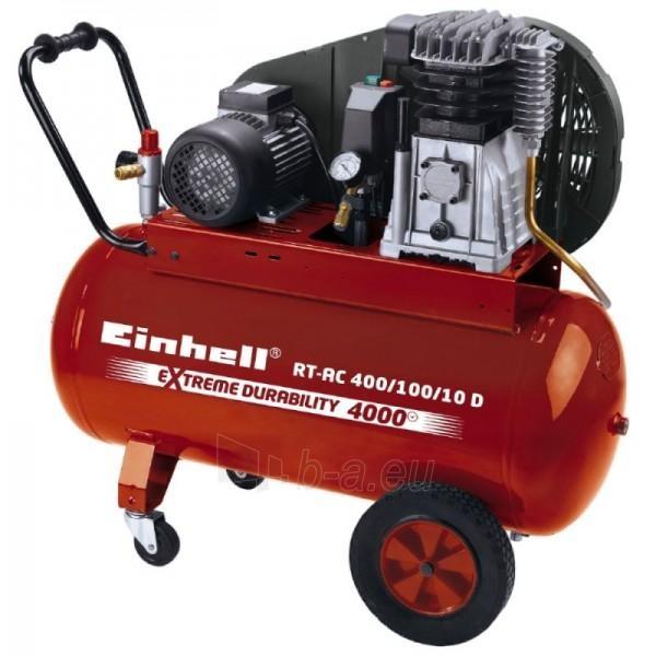 KOmpresorius Einhell RT-AC 400/100/10 D Paveikslėlis 1 iš 8 225291000084