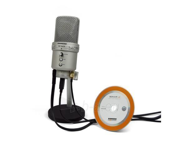 Kondensatorinis mikrofonas SAMSON G-Track USB su Audio sąsaja ir mikšeriu Paveikslėlis 1 iš 9 250255091071
