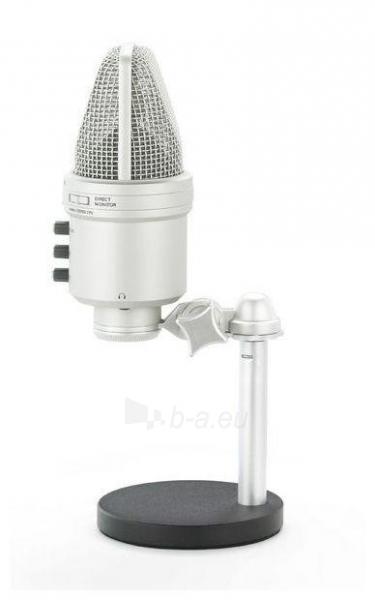 Kondensatorinis mikrofonas SAMSON G-Track USB su Audio sąsaja ir mikšeriu Paveikslėlis 4 iš 9 250255091071