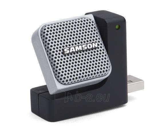 Kondensatorinis mikrofonas SAMSON Go Mic Direct USB su triukšmo mažinimu Paveikslėlis 1 iš 5 250255090751