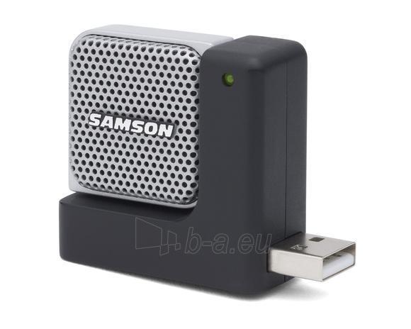 Kondensatorinis mikrofonas SAMSON Go Mic Direct USB su triukšmo mažinimu Paveikslėlis 2 iš 5 250255090751