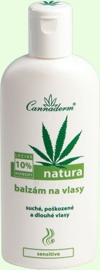 Cannaderm Natura Hair Balm Cosmetic 200ml Paveikslėlis 1 iš 1 250830900001