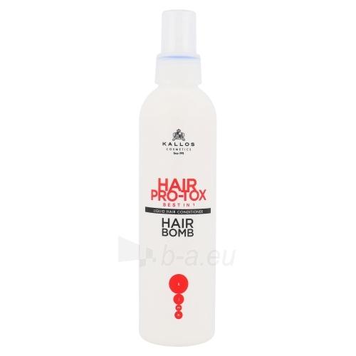 Kondicionierius plaukams Kallos Hair Pro-Tox Hair Bomb Conditoner Cosmetic 200ml Paveikslėlis 1 iš 1 310820011482