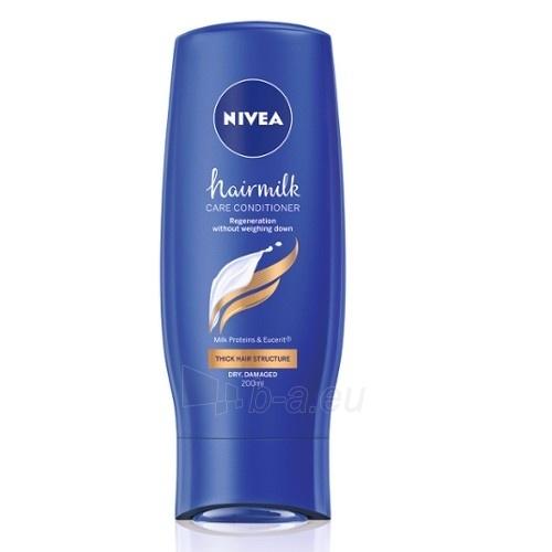 Kondicionierius plaukams Nivea Hair Care Conditioner with Milk Proteins for Strong Hair 200 ml Paveikslėlis 1 iš 1 310820103772
