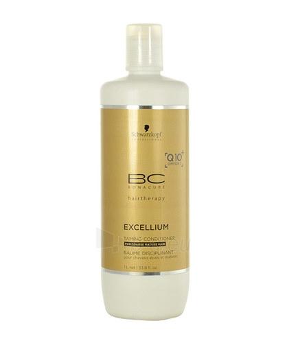 Kondicionierius plaukams Schwarzkopf BC Bonacure Excellium Taming Conditioner Cosmetic 1000ml Paveikslėlis 1 iš 1 250830900655