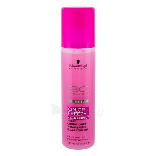 Kondicionierius plaukams Schwarzkopf BC Cell Perfector Color Freeze Spray Conditioner Cosmetic 200ml Paveikslėlis 1 iš 1 250830900439