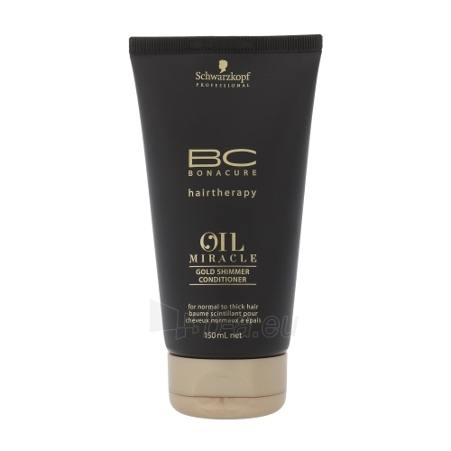 Schwarzkopf BC Oil Miracle Gold Shimmer Conditioner Thick Hair Cosmetic 150ml Paveikslėlis 1 iš 1 250830900610