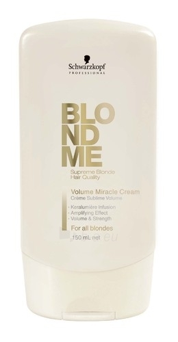 Kondicionierius plaukams Schwarzkopf Blond Me Volume Miracle Cream Cosmetic 150ml Paveikslėlis 1 iš 1 250830900064