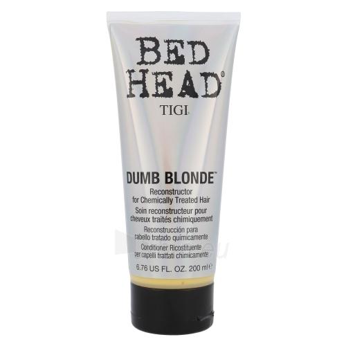 Kondicionierius plaukams Tigi Bed Head Dumb Blonde Reconstructor Cosmetic 200ml Paveikslėlis 1 iš 1 250830900088
