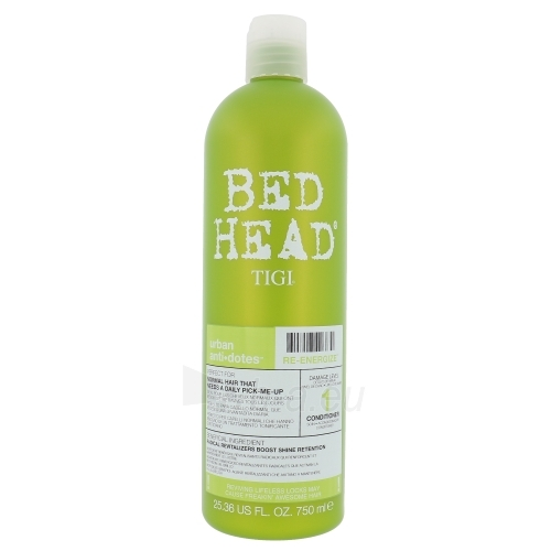 Tigi Bed Head Re-Energize Conditioner Cosmetic 750ml Paveikslėlis 1 iš 1 250830900115