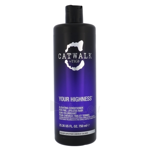 Kondicionierius plaukams Tigi Catwalk Your Highness Nourishing Conditioner Cosmetic 750ml Paveikslėlis 1 iš 1 250830900299