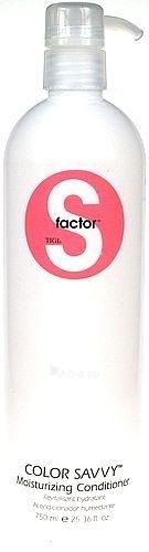 Tigi S Factor Color Savvy Moisturizing Conditioner Cosmetic 750ml Paveikslėlis 1 iš 1 250830900153