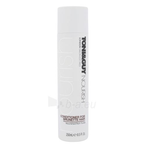 Kondicionierius plaukams Toni&Guy Nourish Conditioner For Brunette Hair Cosmetic 250ml Paveikslėlis 1 iš 1 310820045693
