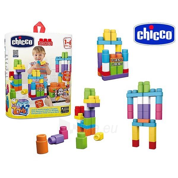 Konstruktorius   App toys blocks   Chicco Paveikslėlis 1 iš 2 310820024973