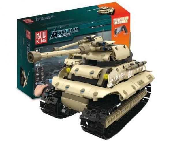 Konstruktorius – tankas, valdomas nuotoliniu būdu Paveikslėlis 1 iš 12 310820251467