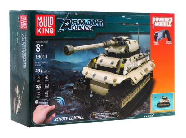 Konstruktorius – tankas, valdomas nuotoliniu būdu Paveikslėlis 11 iš 12 310820251467