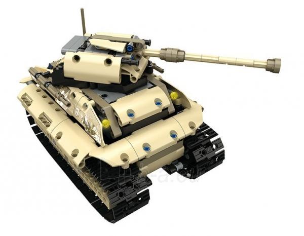 Konstruktorius – tankas, valdomas nuotoliniu būdu Paveikslėlis 10 iš 12 310820251467