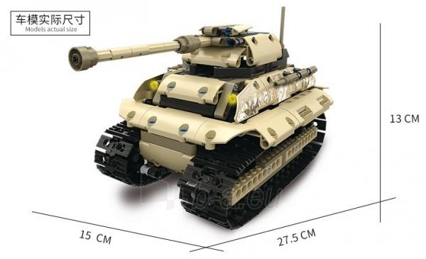 Konstruktorius – tankas, valdomas nuotoliniu būdu Paveikslėlis 9 iš 12 310820251467