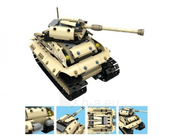 Konstruktorius – tankas, valdomas nuotoliniu būdu Paveikslėlis 8 iš 12 310820251467