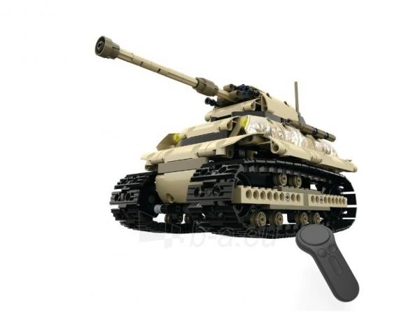 Konstruktorius – tankas, valdomas nuotoliniu būdu Paveikslėlis 7 iš 12 310820251467