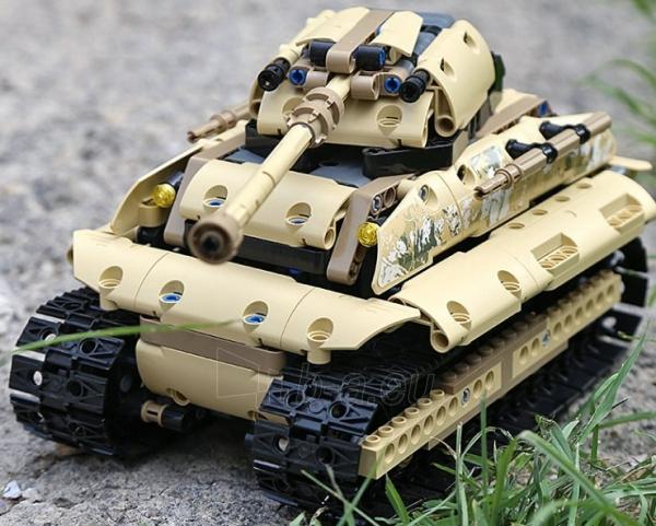 Konstruktorius – tankas, valdomas nuotoliniu būdu Paveikslėlis 2 iš 12 310820251467
