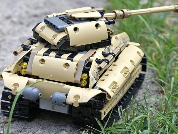 Konstruktorius – tankas, valdomas nuotoliniu būdu Paveikslėlis 12 iš 12 310820251467
