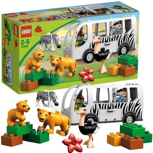 Konstruktorius 10502 Lego Duplo Autobusas ZOO Paveikslėlis 1 iš 1 30005400440