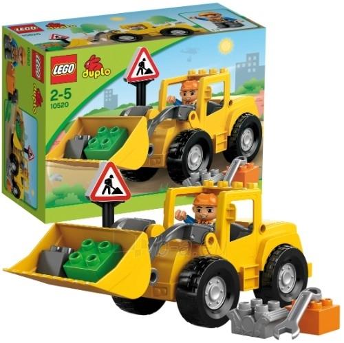 10520 Lego Duplo Front charger Paveikslėlis 1 iš 1 30005400462