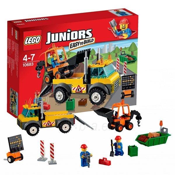 Konstruktorius 10683 LEGO Juniors Грузовик дорожных служб, c 4 до 7 лет NEW 2015! Paveikslėlis 1 iš 1 30005401434