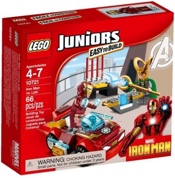 Konstruktorius 10721 Lego Juniors Железный человек против Локи Paveikslėlis 1 iš 1 30005401499
