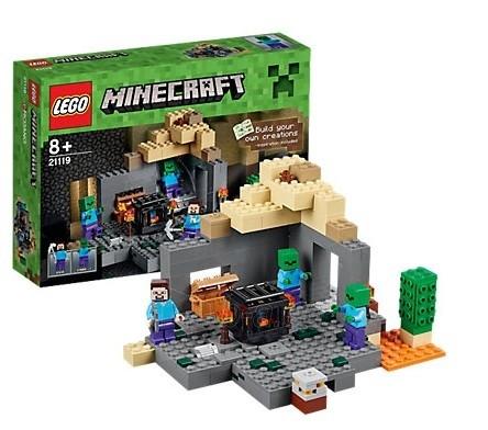 Konstruktorius 21119 LEGO Minecraft Темница, c 8 лет NEW 2015! Paveikslėlis 1 iš 1 30005401436