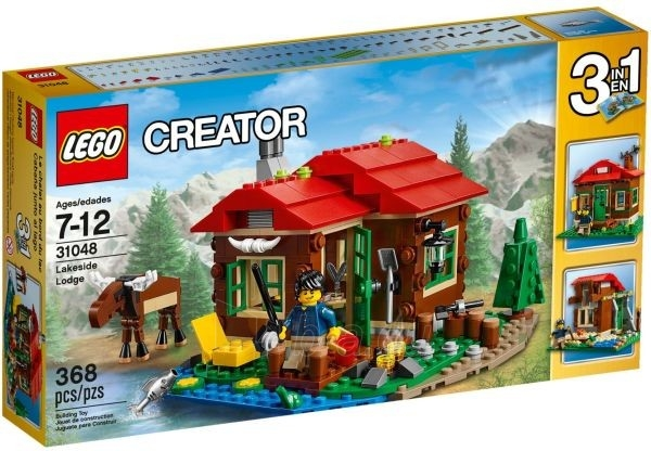 Konstruktorius 31048 Lego Creator Lakeside Lodge Paveikslėlis 1 iš 1 30005401511