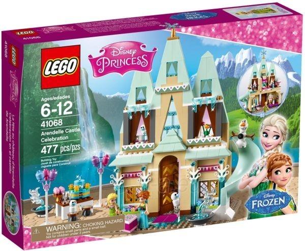 Konstruktorius 41068 Lego Disney Princesses Arendelle Castle Celebration Paveikslėlis 1 iš 1 30005401514