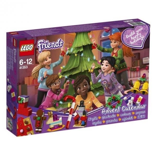 Konstruktorius 41353 LEGO® Friends Новогодний календарь, c 6 до 12 лет NEW 2018! Paveikslėlis 2 iš 4 310820153102