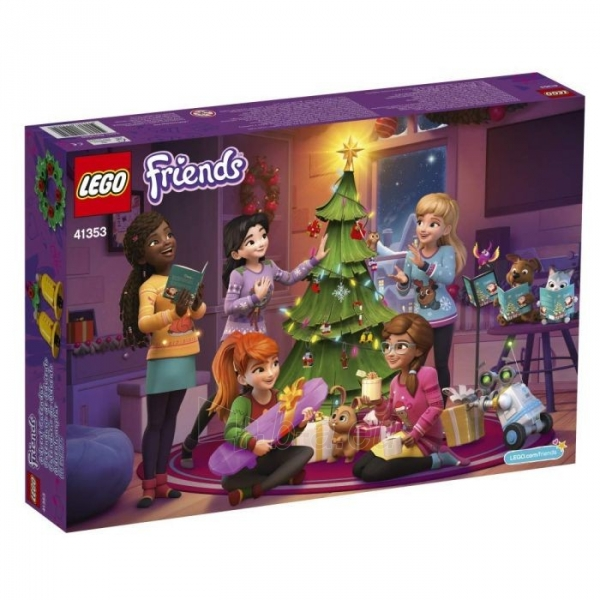 Konstruktorius 41353 LEGO® Friends Новогодний календарь, c 6 до 12 лет NEW 2018! Paveikslėlis 3 iš 4 310820153102