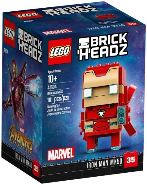 Konstruktorius 41604 LEGO® BrickHeadz Iron Man MK50 Paveikslėlis 1 iš 1 310820136716